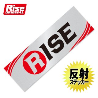RISE リフレクティブステッカー5