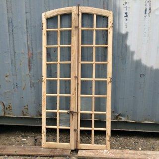 フランス製アンティーク窓(ドア) W157134D