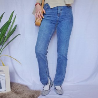 [即納] Straight skinny highwaist jeans