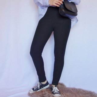 Swaet leggings pants (BLACK)