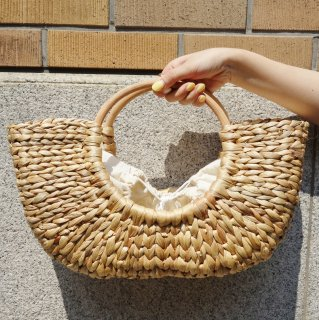 [即納] Bamboo basket bag