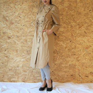 [即納] 2WAY trench coat (BEIGE)