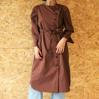 [即納] 2WAY trench coat (BURGUNDY)