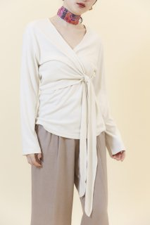 Ribbon long T (IVORY)