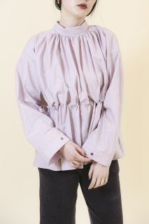 Roll collar shirts (PURPLE)