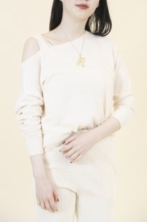 Layered spring knit (IVORY)