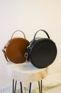 [予約] Circle shoulder bag (BLACK)