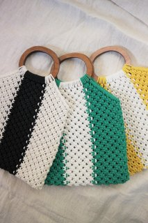 [予約] Bycolor knit bag