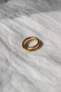 [予約] Loop ring (GOLD)