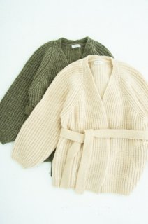 [予約] Volume knit cardigan