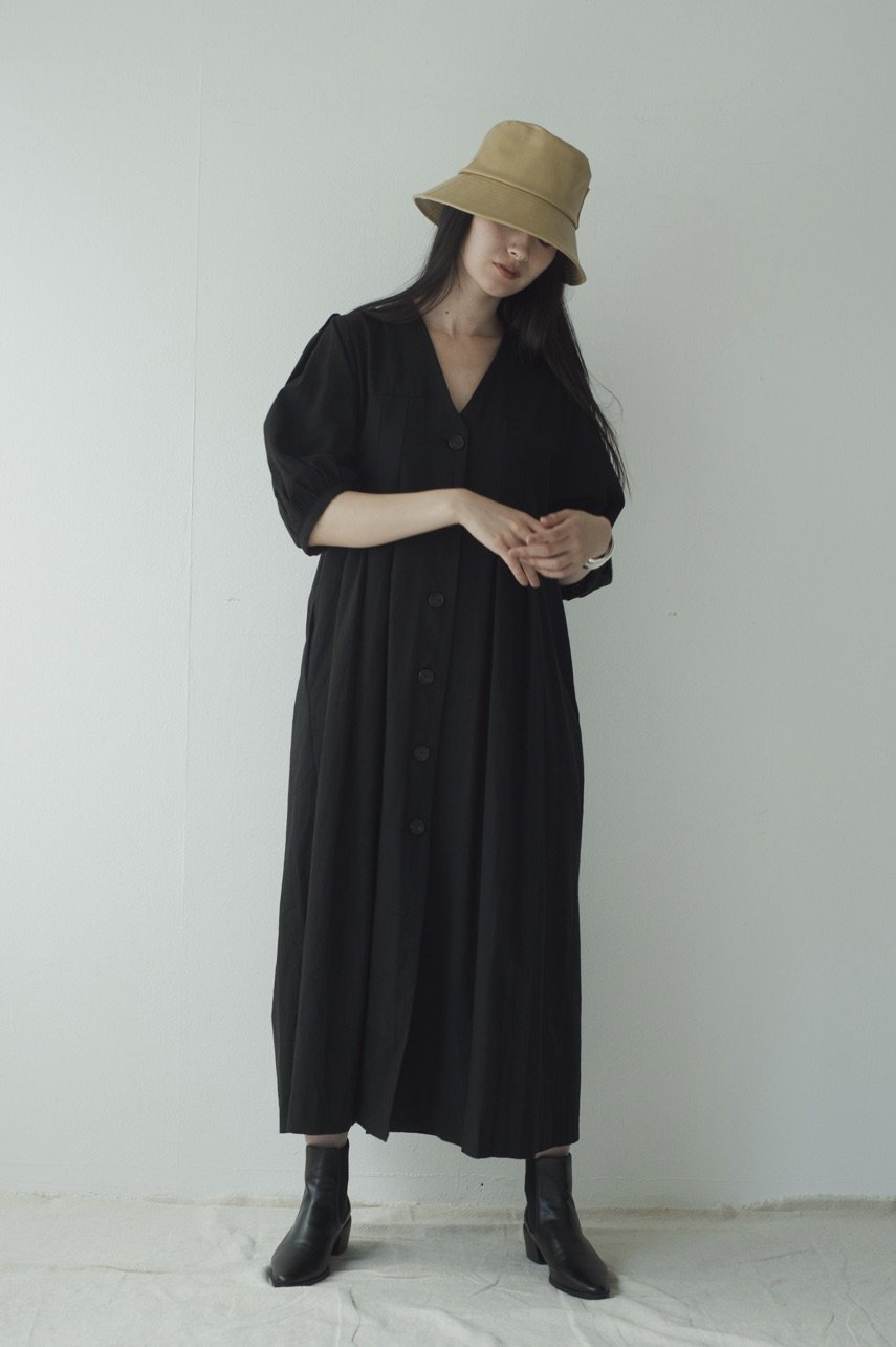 Puff sleeve one-piece