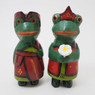 【SALE】バリ衣装カエルのカップル