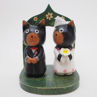 ネコさん結婚式