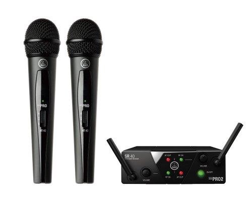 AKG / WMS40 PRO MINI2 VOCAL SET DUAL B帯 2チャンネルワイヤレス システム