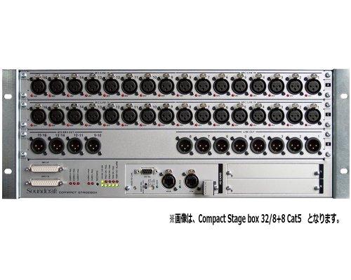 Soundcraft / サウンドクラフト Compact Stage box 32/8+8 Cat5
