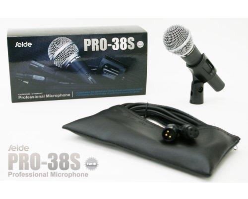 SEIDE PRO-38S 使いやすいダイナミックマイクロフォン