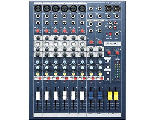 SoundCraft / サウンドクラフト アナログミキサー EPM6 コンパクトミキサー