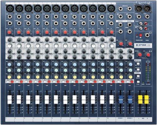 SoundCraft / サウンドクラフト アナログミキサー EPM12 コンパクトミキサー
