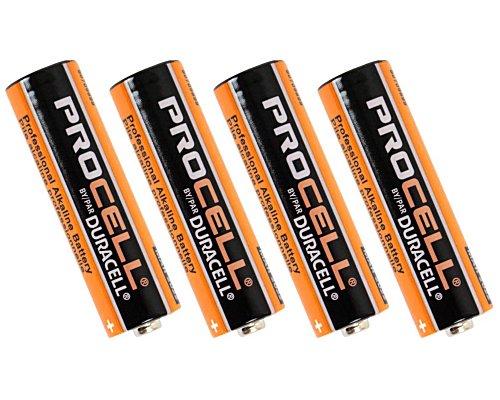 Duracell Procell / デュラセル プロセル PRO-AA4 単3形アルカリ 乾電池 4本パック