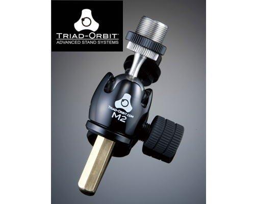 TRIAD-ORBIT スイベル機構アダプター M2 ショートシャフトマイクアダプター