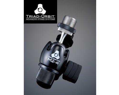 TRIAD-ORBIT スイベル機構アダプター M2-R ショートシャフトマイクアダプター(既存のマイクスタンドに接続可能)