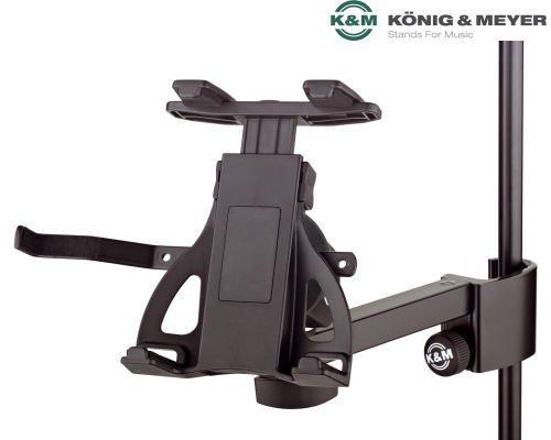 K&M タブレットPCホルダー 19740 (ブラック)