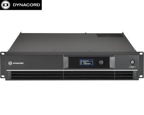DYNACORD(ダイナコード) L1800FD DSP搭載 2chパワーアンプ