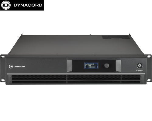 DYNACORD(ダイナコード) L2800FD DSP搭載 2chパワーアンプ