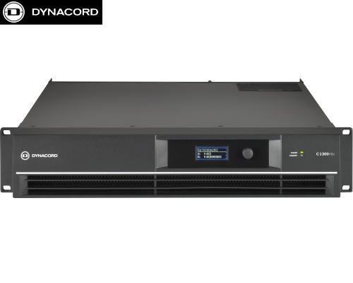 DYNACORD(ダイナコード) C1300FDi DSP搭載 2chパワーアンプ