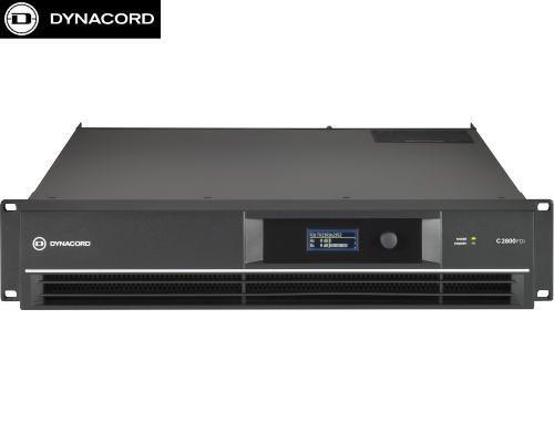 DYNACORD(ダイナコード) C2800FDi DSP搭載 2chパワーアンプ