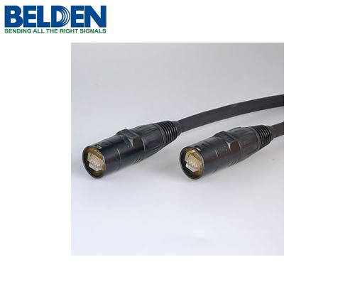 BELDEN/ベルデン CAT5e SF/UTP イーサコンケーブル (シールドタイプ/20m) ブラック ET-74003-B-20