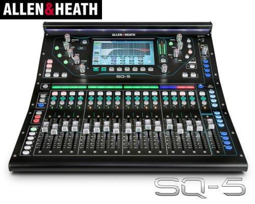 ALLEN&HEATH(A&H)/アレン&ヒース(アレヒ)デジタルミキサー SQ-5