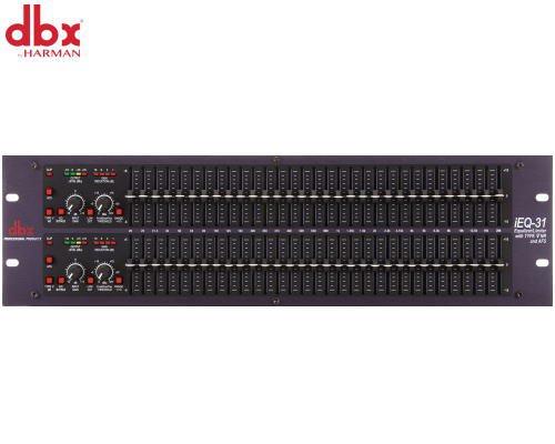 dbx グラフィックイコライザー(2ch) iEQ-31