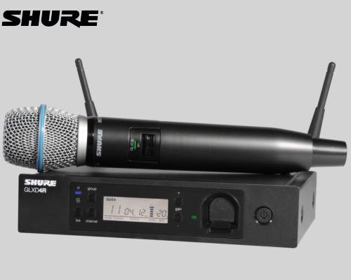 SHURE マイクロホン ワイヤレスセット 2.4GHz帯  GLX-D24R / BETA87A