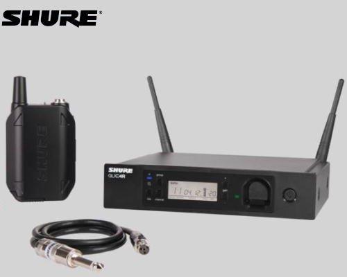 SHURE ボディパック型ギターワイヤレスシステム 2.4GHz帯  GLX-D14R