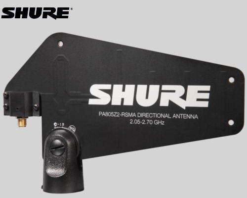 SHURE パッシブ指向性アンテナ PA805Z2-RSMA