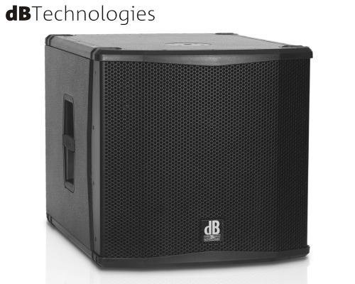 dB Technologies(ディービーテクノロジーズ)アクティブサブウーファー SUB 15H(パワードモデル)
