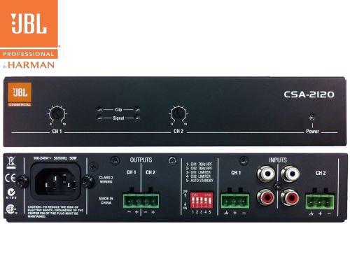 JBL(ジェービーエル) CSA-2120 パワーアンプ(ハーフラックサイズ)