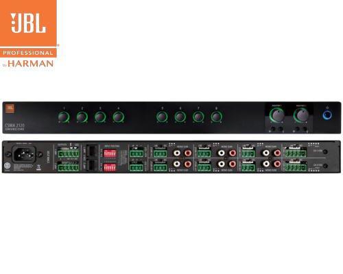 JBL(ジェービーエル) CSMA 2120 ミキサー内蔵パワーアンプ(1Uサイズ)