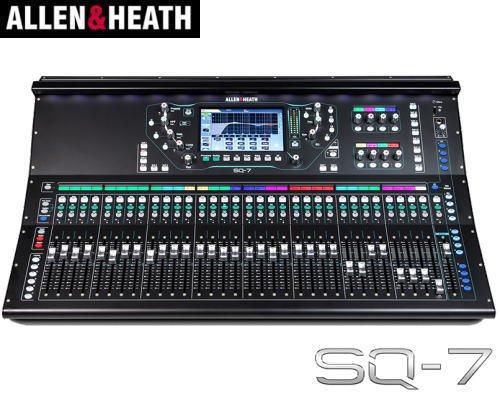 ALLEN&HEATH(A&H)/アレン&ヒース(アレヒ)デジタルミキサー SQ-7