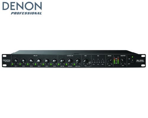 DENON 12チャンネル マイク/ラインミキサー DN-312X