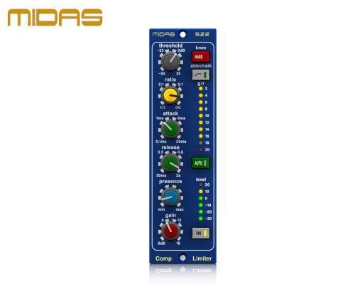 MIDAS(マイダス)コンプレッサー/リミッター COMPRESSOR LIMITER 522