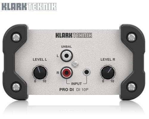 KLARK TEKNIK(クラークテクニック)パッシブDIボックス DI 10P