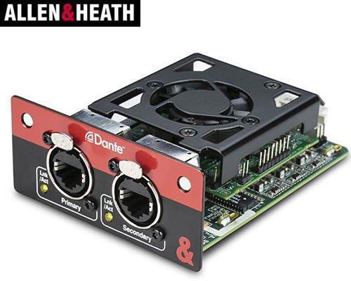 ALLEN & HEATH  ( アレンアンドヒース )  SQシリーズミキサー用Dante®モジュール SQ DANTE