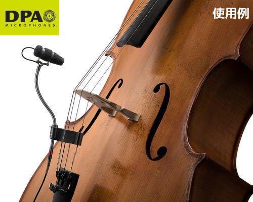 DPA d:vote楽器用マイクロホン チェロセットモデル 4099-DC-1-201-C