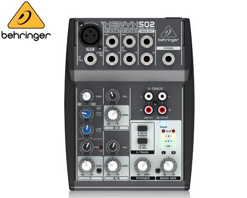 BEHRINGER(ベリンガー)アナログミキサー(5ch) 502 XENYX