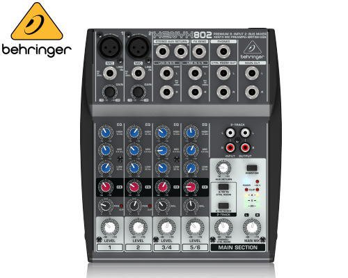 BEHRINGER(ベリンガー)アナログミキサー(6ch) 802 XENYX