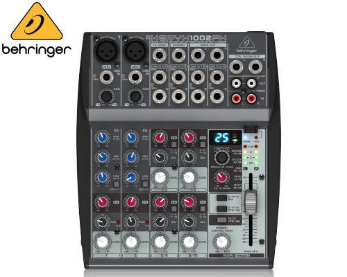 BEHRINGER(ベリンガー)アナログミキサー(10ch) 1002FX XENYX