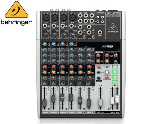 BEHRINGER(ベリンガー)アナログミキサー(8ch) 1204USB XENYX