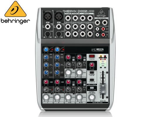 BEHRINGER(ベリンガー)アナログミキサー(10ch) Q1002USB XENYX